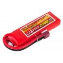 Аккумулятор LiPo Dinogy 2200mAh 7.4V 2S 30C 17x37x113мм T-Plug
