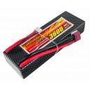 Аккумулятор LiPo Dinogy 3600mAh 11.1V 3S 30C Hardcase 25x46x138мм T-Plug