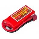 Аккумулятор LiPo Dinogy 1300mAh 11.1V 3S 30C 22x35x75мм T-Plug