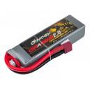 Аккумулятор LiPo Dinogy G2.0 2200mAh 11.1V 3S 70C 24x35x110мм T-Plug