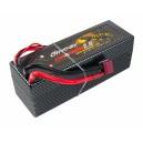 Аккумулятор LiPo Dinogy G2.0 6500mAh 14.8V 4S 70C Hardcase 48x46x139мм T-Plug