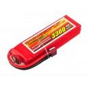 Аккумулятор LiPo Dinogy 3300mAh 14.8V 4S 30C 26x43x142мм T-Plug