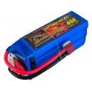 Аккумулятор LiPo Dinogy 2250mAh 22.2V 6S 65C 47x35x106мм T-Plug