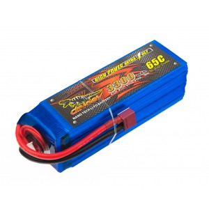 Аккумулятор LiPo Dinogy 3300mAh 22.2V 6S 65C 43x42x133мм T-Plug