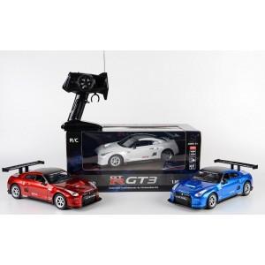 Радиоуправляемая машина Nissan GT-R 1/16 синий