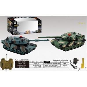 Танковый бой 33820 на радиоуправлении