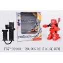 Робот-боксер на радиоуправлении красный t57-d2069