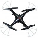 Квадрокоптер на радиоуправлении Syma X5SW с камерой WiFi (черный)