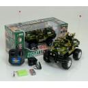 Машина-джип военная на радиоуправлении HQ3010