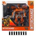 Робот-трансформер Bumblebee и Optimus Prime w106