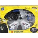 Мотоцикл New Ray Suzuki сборный в масштабе 1:12