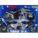 Мотоцикл New Ray Yamaha YZF-R1 сборный в масштабе 1:12
