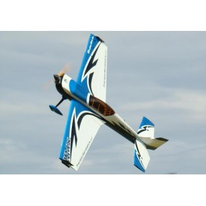 Самолёт р/у Precision Aerobatics Katana MX 1448мм KIT (синий)