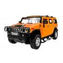 Машинка р/у 1:14 Meizhi лиценз. Hummer H2 желтый