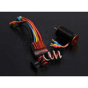 Бесколлекторная система Turnigy TrackStar 1/18th 14T 4300kv