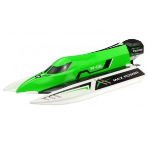 Катер р/у WL Toys WL915 F1 High Speed Boat бесколлекторный зеленый