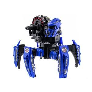 Робот-паук на пульте управления Keye Space Warrior синий