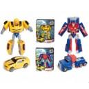 Трансформер-супергерой Bumblebee и Optimus Prime 555