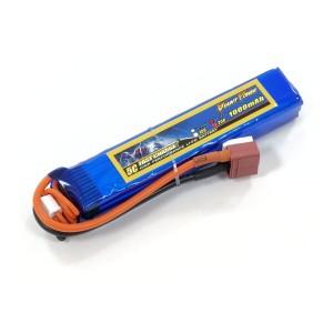 Аккумулятор для страйкбольного привода Li-Po 11.1V 3S 1000mAh 25C 16.5х20х103мм T-Plug Giant Power