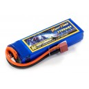 Аккумулятор для страйкбольного привода Li-Po 11.1V 3S 2200mAh 25C 24х34х102мм T-Plug Giant Power