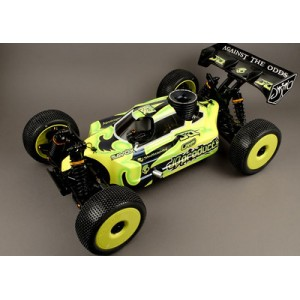 "JQ Products ""THE Car"" 1/8 Nitro Kit (Yellow Edition)"