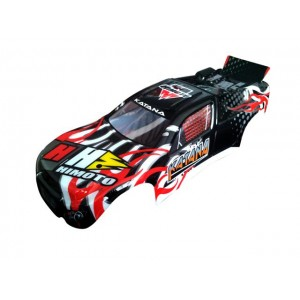 Black Truggy Car Body
