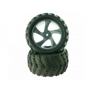 28663 Tire and Rim for Monster Truck 2P