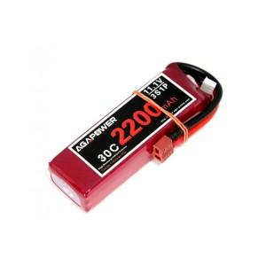 Аккумулятор AGA POWER Li-Po 2200mAh 11.1V 3S 30C