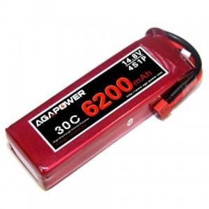 Аккумулятор AGA POWER Li-Po 6200mAh 14.8V 4S 30C