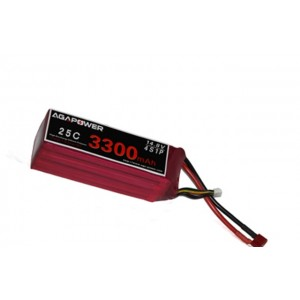 Аккумулятор AGA POWER Li-Po 3300mAh 14.8V 4S 25C