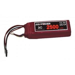 Аккумулятор AGA POWER Li-Po 2500mAh 11.1V 3S 3C