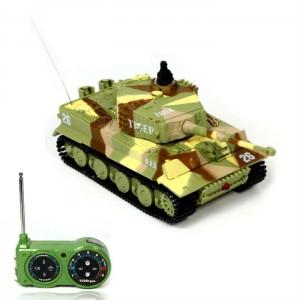 Танк микро на р/у 1:72 Tiger со звуком