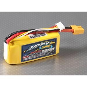 LiPo аккумулятор ZIPPY Compact 1300mAh 3S 25C