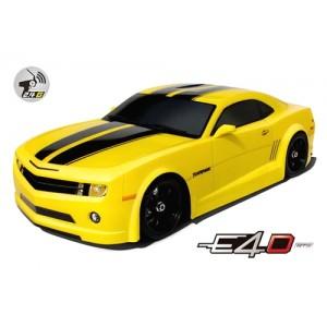 Дрифт модель 1:10 Team Magic E4D Chevrolet Camaro (желтый)