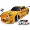 Дрифт модель 1:10 Team Magic E4D Mazda RX-7 (золотой)