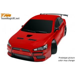 Шоссейная модель 1:10 Team Magic E4JR Mitsubishi Evolution X (красный)