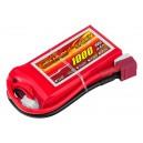 Аккумулятор LiPo Dinogy 1000mAh 11.1V 3S 30C 18x35x68мм T-Plug