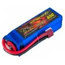 Аккумулятор LiPo Dinogy 2250mAh 14.8V 4S 65C 33x35x106мм T-Plug
