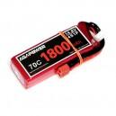 Аккумулятор AGA POWER Li-Po 1800mAh 14.8V 4S 70C Softcase 31x35x105мм T-Plug