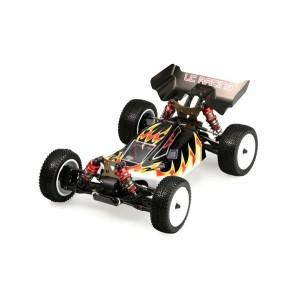 Багги 1:14 LC Racing 1H бесколлекторная черный