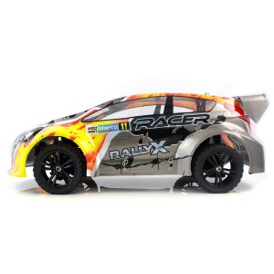 Ралли 1:10 Himoto RallyX E10XR Brushed серый