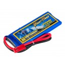Аккумулятор Giant Power Li-Pol 850mAh 3.7V 1S 35C 7x30x52мм JST