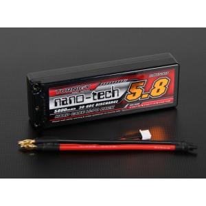 LiPo аккумулятор Turnigy nano-tech 2S 5800mah 30-60C